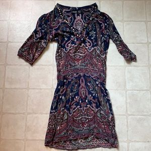 NWOT Alloy Boho Dress SZ M
